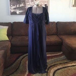 Dresses & Skirts - Navy formal dress/ brides maid dress/ mother dress